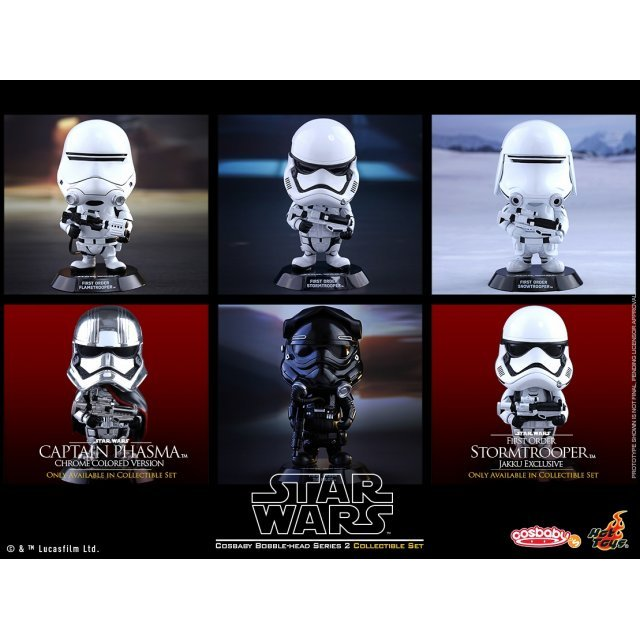 Cosbaby Star Wars: The Force Awakens Series 2 (Set of 6 pieces)