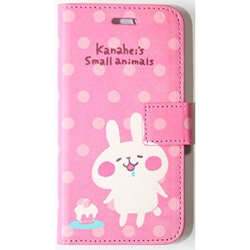 Kanaheis Small Animals Book Type Smartphone Case for iPhone6/6S: Rabbit
