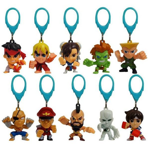 Street Fighter Backpack Hangers (Random Single)