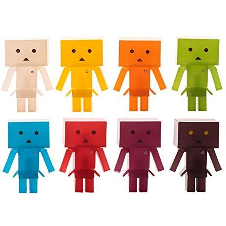 Yotsuba&! Trading Figures: Danboard Nano Jelly Beans (Set of 10 pieces)