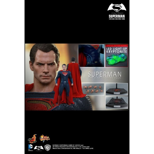Batman v Superman Dawn of Justice 1/6 Scale Collectible Figure: Superman (Special Edition)