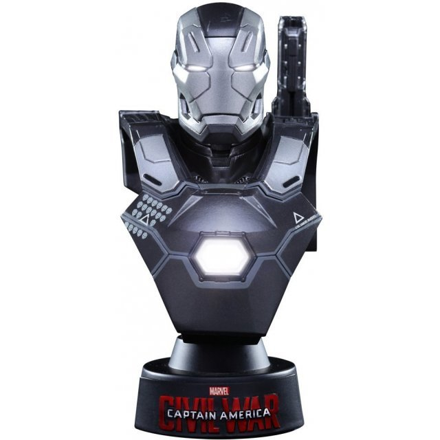 Captain America Civil War 1/6 Scale Collectible Bust: War Machine Mark III