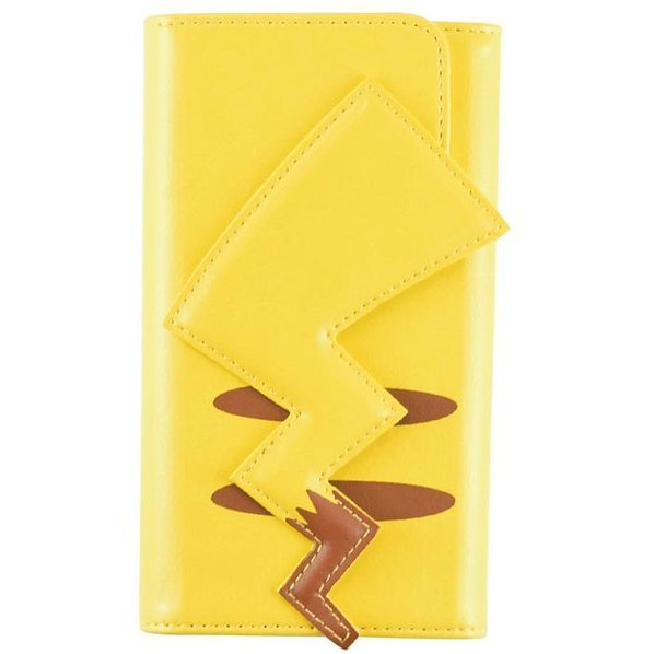 Pokemon iPhone6/6S Flip Case with Strap: Pikachu/Tail