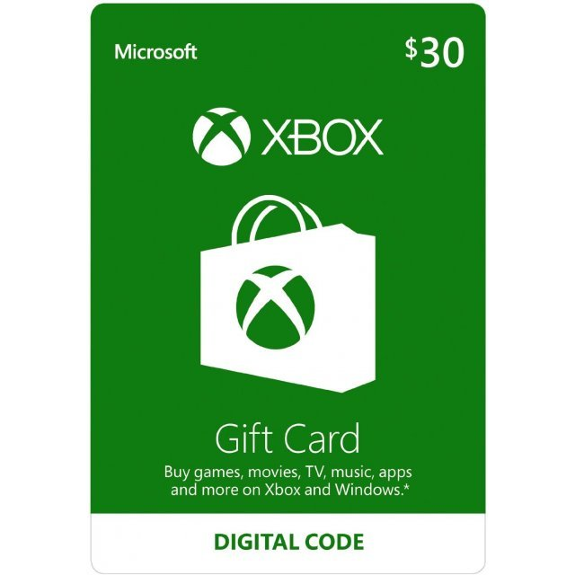 Xbox Gift Card USD 30