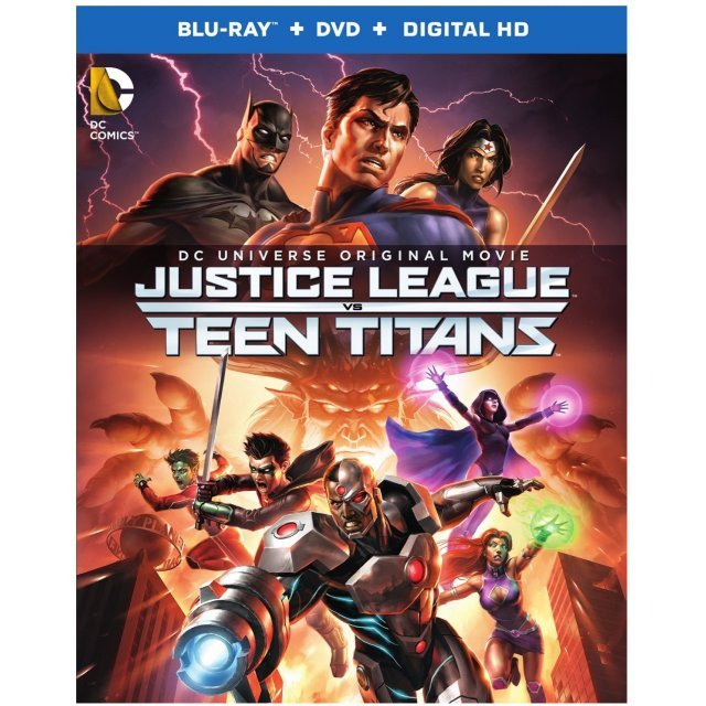 Justice League vs Teen Titans [Blu-ray+DVD+Digital HD]
