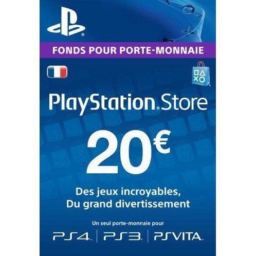 playstation kaart 20 euro PSN Card 20 EUR | Playstation Network France digital