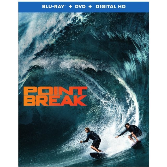 Point Break [Blu-ray+DVD+Digital HD]