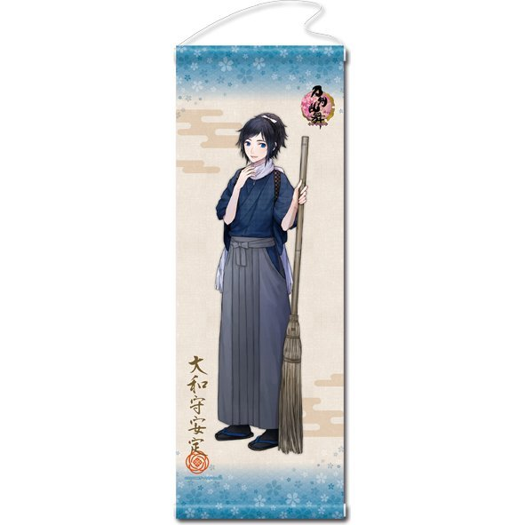 Touken Ranbu -ONLINE- Wall Scroll (Uchiban) 15: Yamatonokami Yasusada (Re-run)