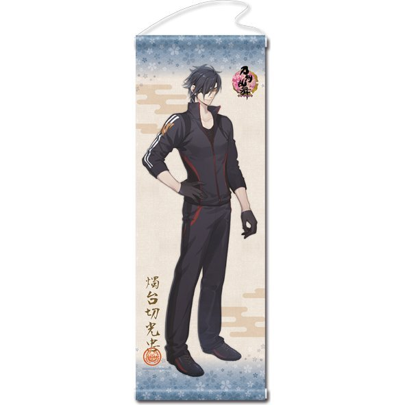Touken Ranbu -ONLINE- Wall Scroll (Uchiban) 38: Shokudaikiri Mitsutada (Re-run)
