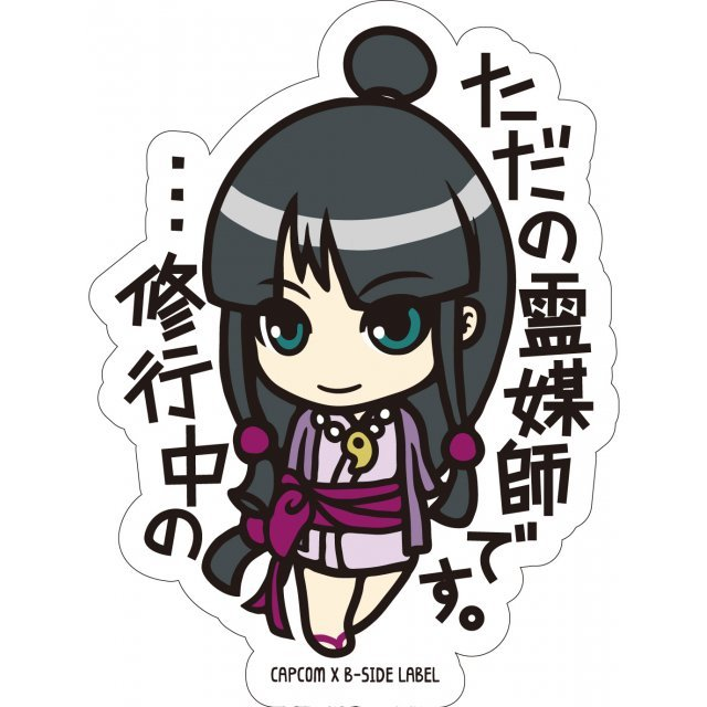 CAPCOM x B-SIDE Label Sticker Vol. 2: Ace Attorney Ayasato (Re-run)