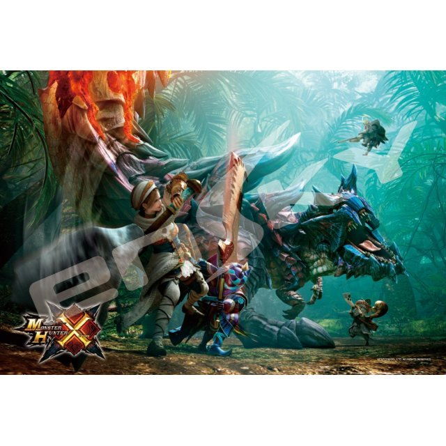 Monster Hunter X 300 Piece Jigsaw Puzzle: Zanryuu Dinovaldo