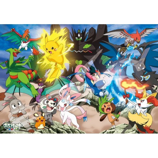 Pokemon XY & Z 500 Large Piece Puzzle: Hageshiku Moeru Pokemon Battle!