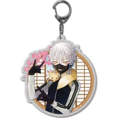 Touken Ranbu -ONLINE- Key Chain (Uchiban) 14: Nakigitsune (Re-run)