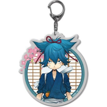 Touken Ranbu -ONLINE- Key Chain (Uchiban) 31: Sayo Samonji (Re-run)