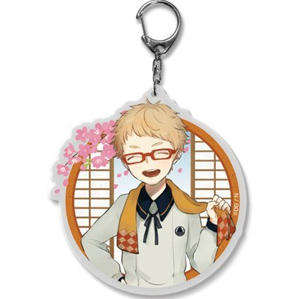 Touken Ranbu -ONLINE- Key Chain (Uchiban) 46: Hakata Toushirou (Re-run)