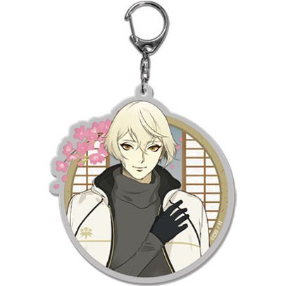 Touken Ranbu -ONLINE- Key Chain (Uchiban) 50: Higekiri (Re-run)