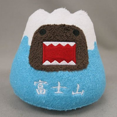 Domo-kun Plush: Mt. Fuji