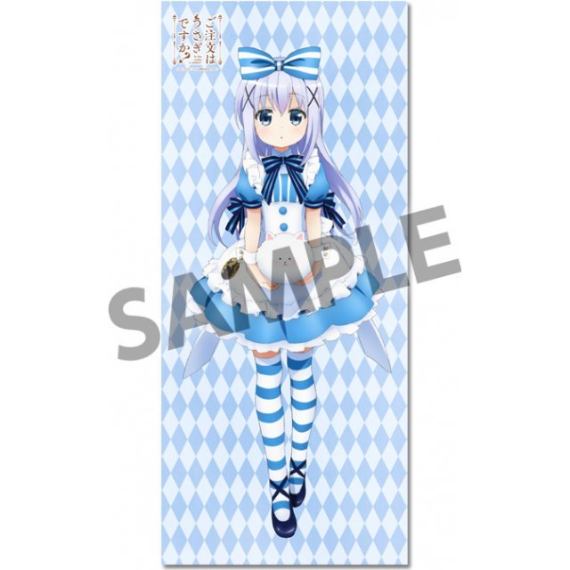 Gochumon wa Usagi Desu ka? Original Long Tapestry: Chino (Re-run)