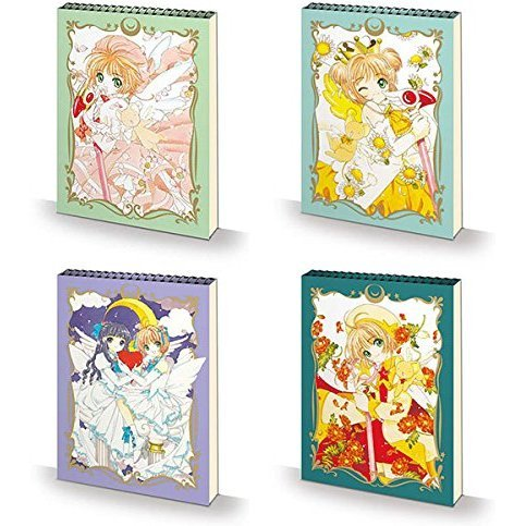 Cardcaptor Sakura Croquis Memo (Set of 4 pieces)