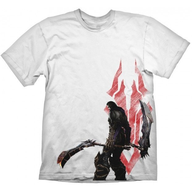 Darksiders T-Shirt: Death and Symbol (XXL Size)