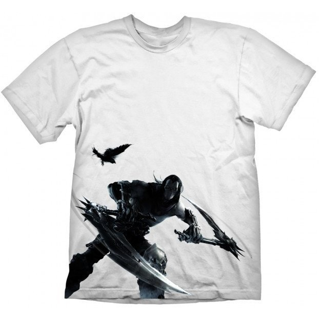 Darksiders T-Shirt: Keyart White (XXL Size)