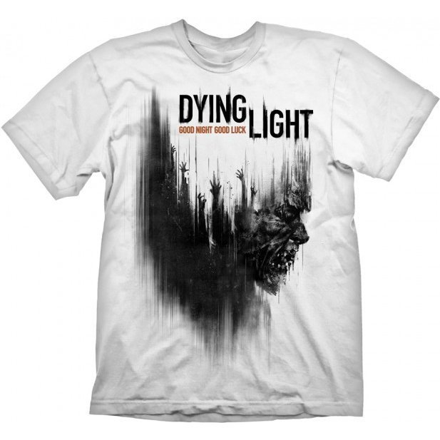 Dying Light T-Shirt: Cover Zombie (L Size)