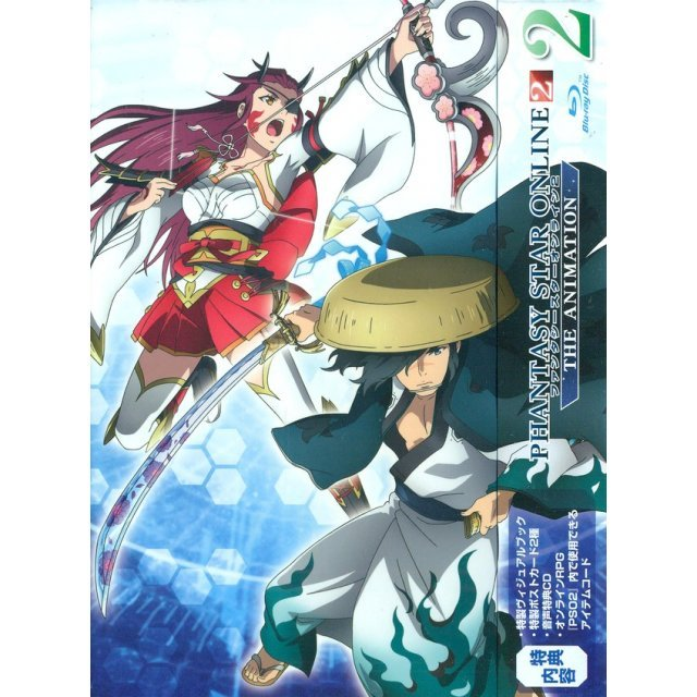 Phantasy Star Online 2 The Animation Vol.2 [Limited Edition]