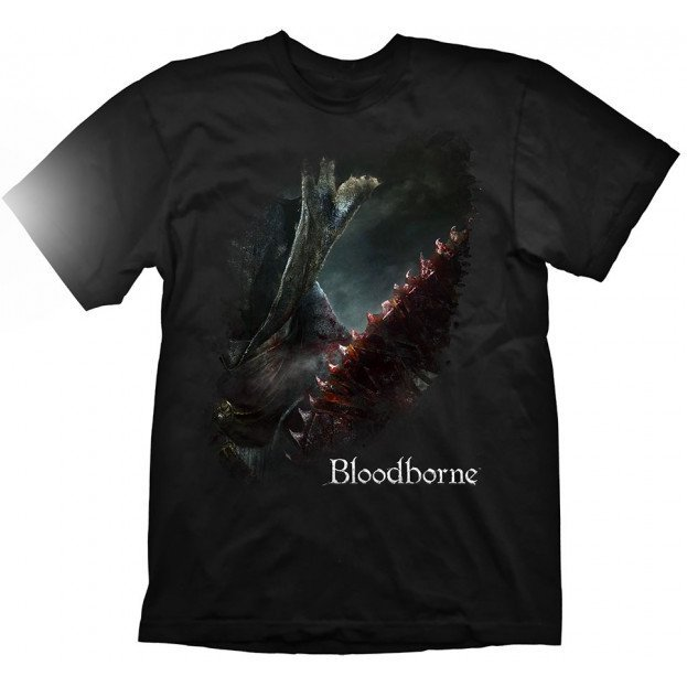 Bloodborne T-Shirt: A Hunter's Bloody Tool (L Size)