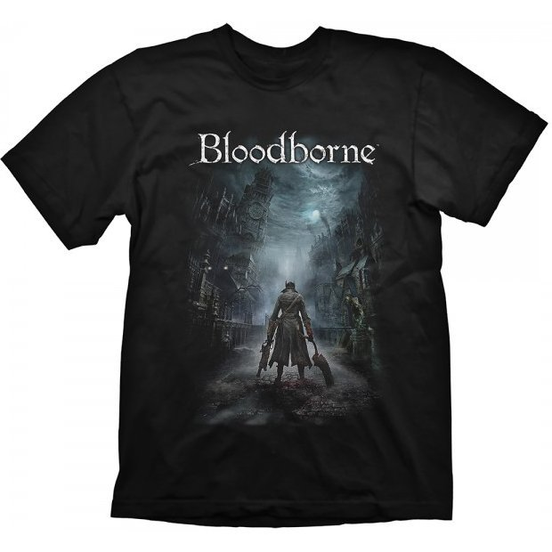 Bloodborne T-Shirt: Night Street (XL Size)
