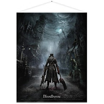 Bloodborne Wall Scroll: Night Street