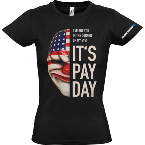 Payday 2 Ladies T-Shirt: Dallas Mask (S Size)