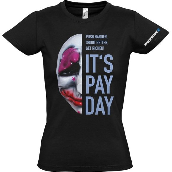 Payday 2 Ladies T-Shirt: Houston Mask (L Size)