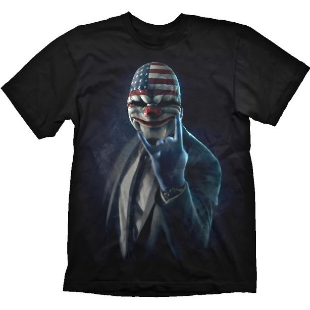 Payday 2 T-Shirt: Rock On (S Size)
