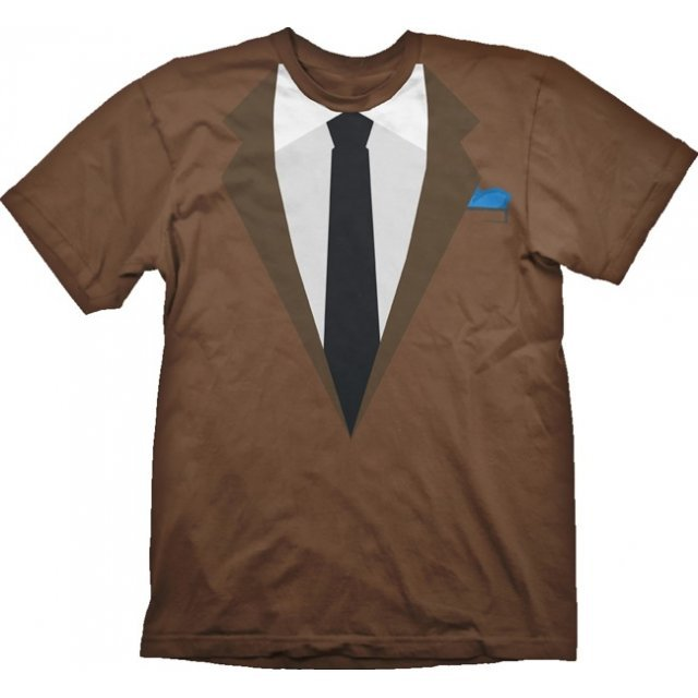 Payday 2 T-Shirt: Suit Dallas (S Size)
