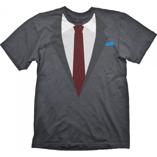 Payday 2 T-Shirt: Suit Wolf (XXL Size)