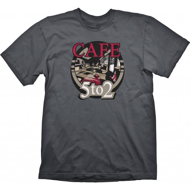 Silent Hill T-Shirt: Cafe 5 to 2 (M Size)
