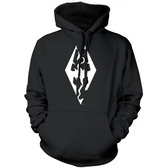 The Elder Scrolls V: Skyrim Hoodie - Dragon Symbol (XL Size)