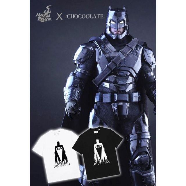 Hot Toys x :CHOCOOLATE Batman v Superman Dawn of Justice 1/6 Scale Collectible Figure: Armored Batman (Black Chrome Ver.) [Exclusive Edition]