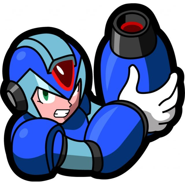 Megaman X Embroidery Patch: X