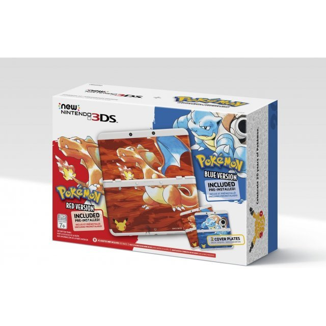 New Nintendo 3DS Pokemon 20th Anniversary Edition