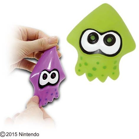 Splatoon Squid Juicy Mascot (Set of 2 pieces)
