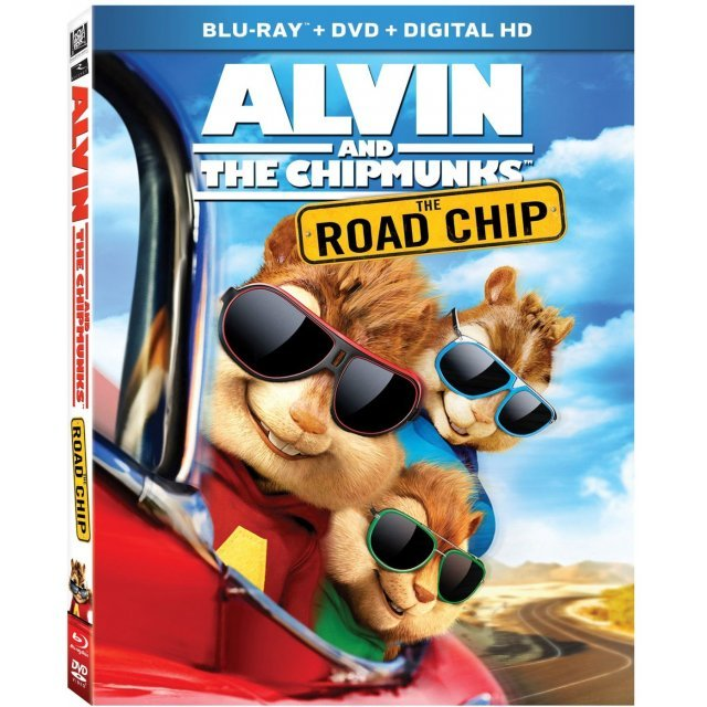 Alvin and the Chipmunks: The Road Chip [Blu-ray+DVD+Digital HD]