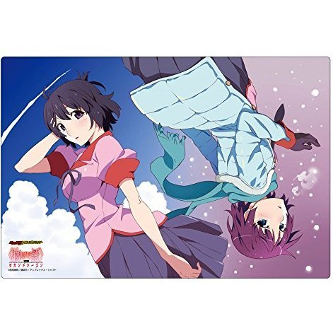 Bushiroad Rubber Mat Collection Vol. 34: Monogatari Series Second Season Senjougahara Hitagi & Hanekawa Tsubasa