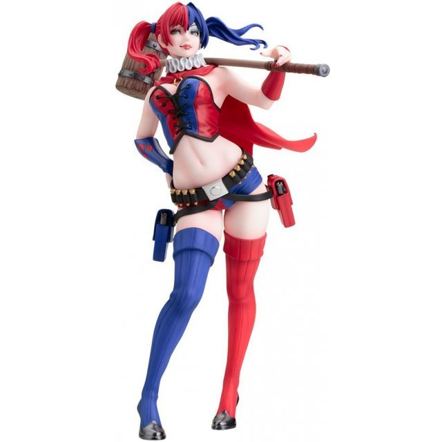 DC Comics Bishoujo 1/7 Scale Pre-Painted Figure: Harley Quinn The New 52 Ver.