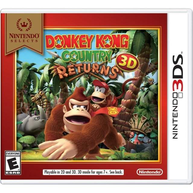 Donkey Kong Country Returns 3D (Nintendo Selects)