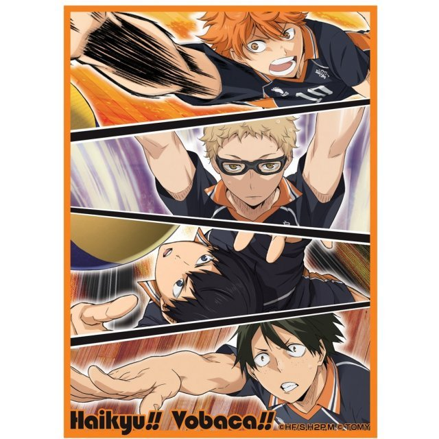 Takaratomy Haikyu!! Vobaca Chara Card Protect Collection: A Karasuno Ver.