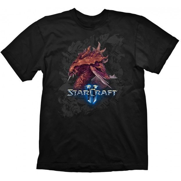 Starcraft 2 T-Shirt: Zerg Iconic (XL Size)