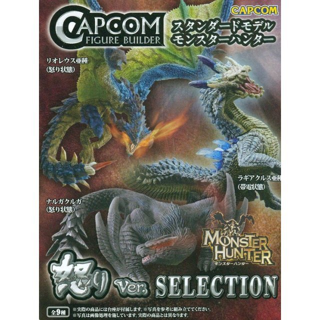 Capcom Figure Builder Standard Model Monster Hunter Anger Ver. Selection (Random Single)