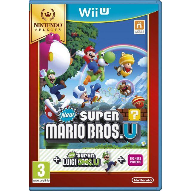 New Super Mario Bros U New Super Luigi U Nintendo Selects