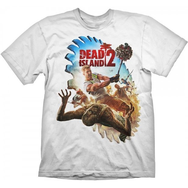 Dead Island 2 T-Shirt: Saw Blade (S Size)